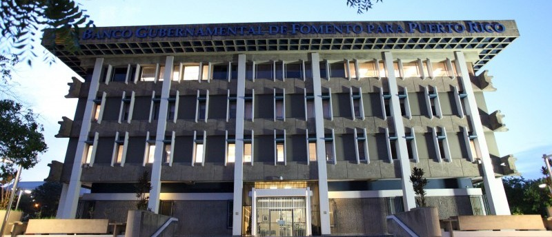 The Government Development Bank (GDB)in San Juan Puerto Rico
