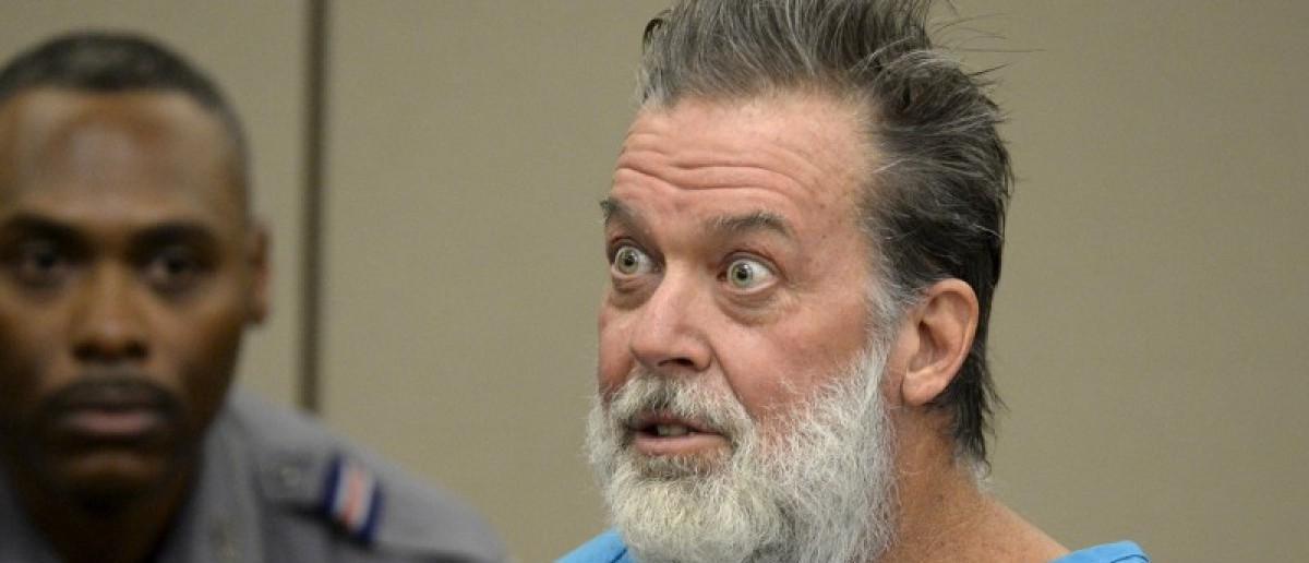 Robert Lewis Dear attends a hearing to face 179 counts of various criminal charges at El Paso County court in Colorado Springs, Colorado December 9, 2015. REUTERS/Andy Cross/Pool/File photo