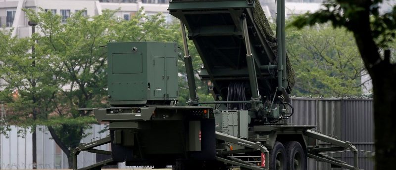 Patriot Advanced Capability-3 (PAC-3) missile is seen at the Defense Ministry in Tokyo, Japan, May 31, 2016  REUTERS/Toru Hanai