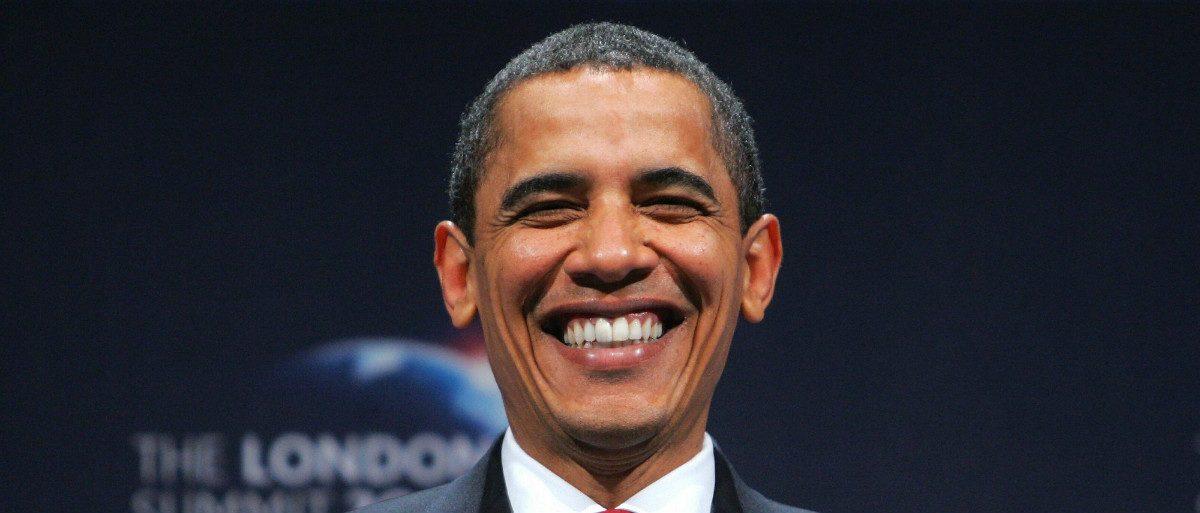 Barack Obama smiling AFP/Getty Images