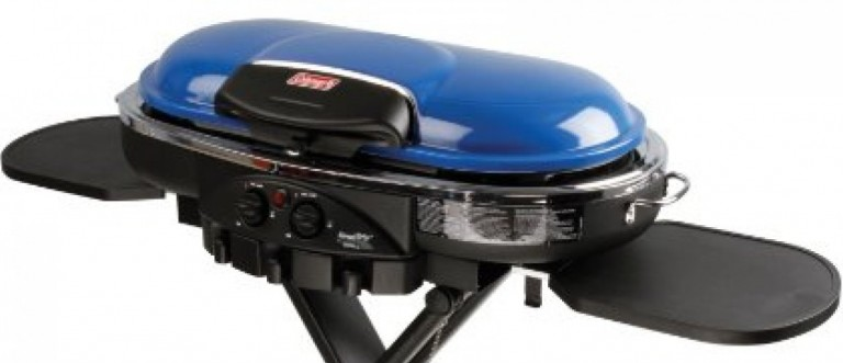 The Coleman portable grill is $65 off (Photo via Amazon)