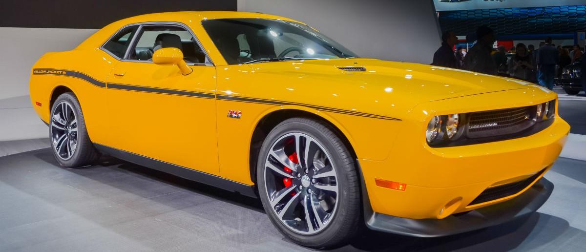 2012 Dodge Challenger Yellow Jacket, Steve Lagreca, Shutterstock