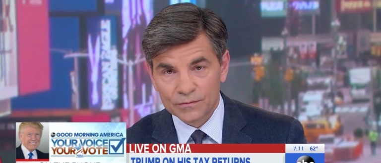 Donald Trump, George Stephanopoulos, Screen Shot ABC, 5-13-2016