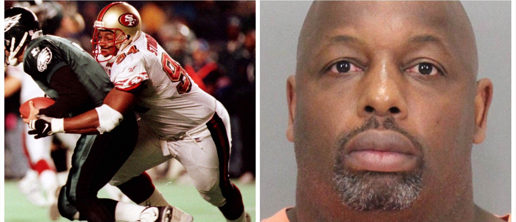 Former 49er Dana Stubblefield Charged With Raping 'Developmentally Delayed' California Woman (Reuters Pictures/Morgan Hill Police)