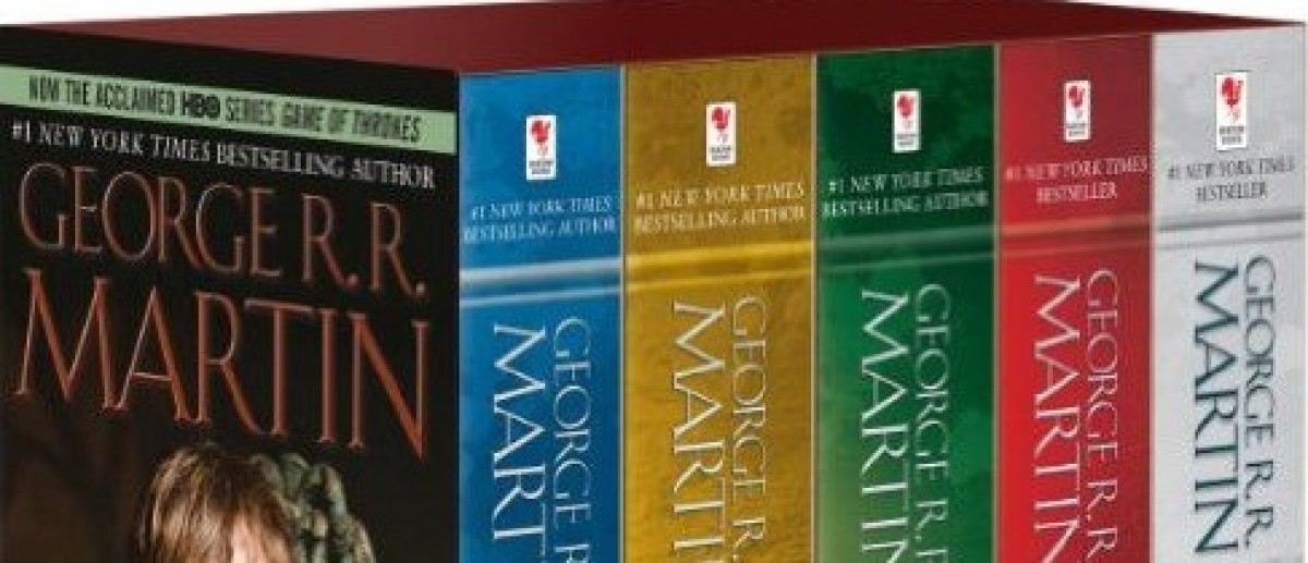 The 'Game of Thrones' books are on sale (Photo via Amazon)