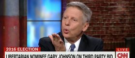 Gary Johnson, Screen Grab CNN, 5-31-2016