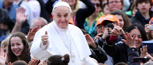Pope Francis: Spreading The Gospel Is No Different Than Waging Jihad (Getty Images)