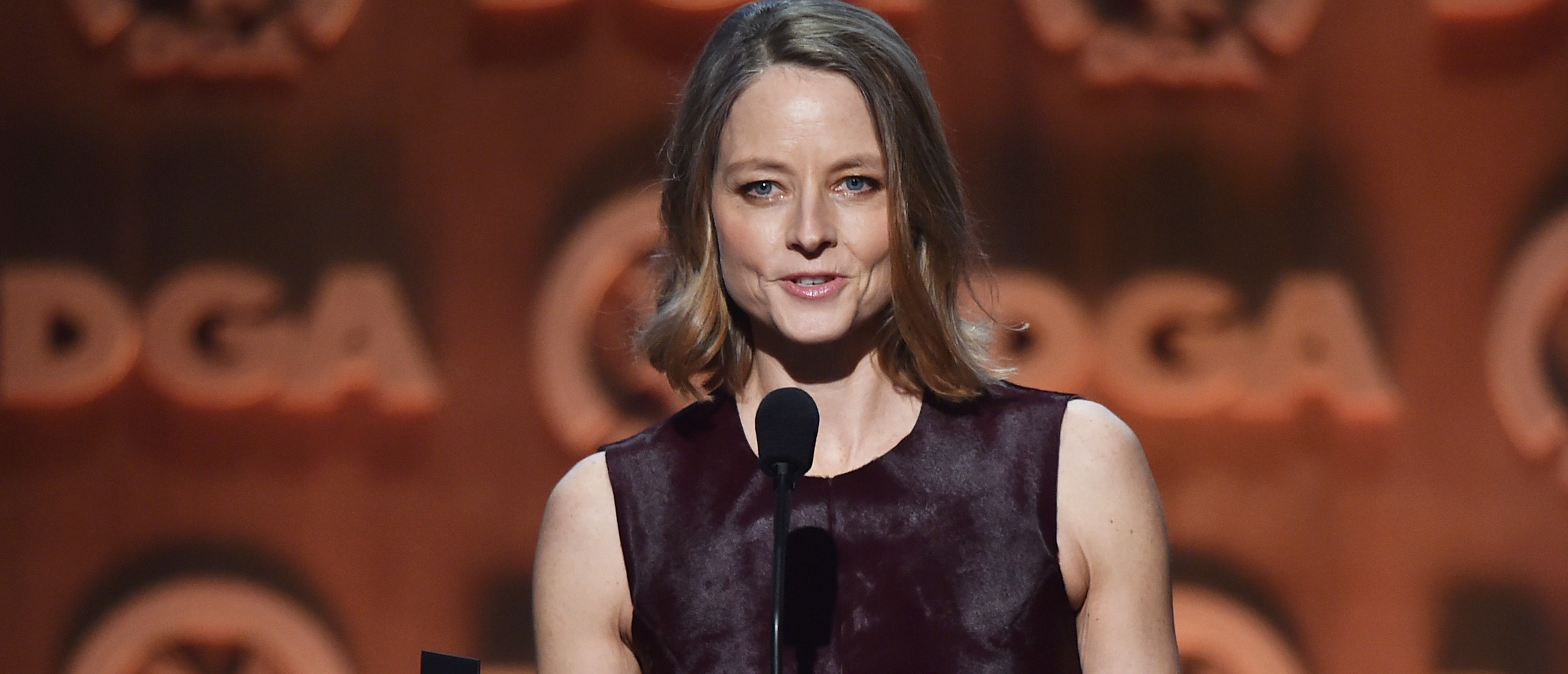 Jodie Foster talks about the presidential election