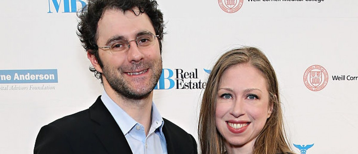 Marc Mezvinsky and Chelsea Clinton attend The Headstrong Project's 3rd Annual Words of War Event at One World Trade Center on Oct. 19, 2015 in New York City. (Photo by Cindy Ord/Getty Images for The Headstrong Project)