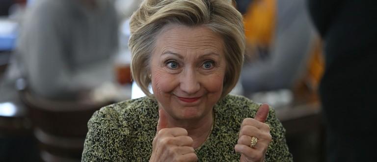 Hillary Clinton (Photo: Joe Raedle/Getty Images)