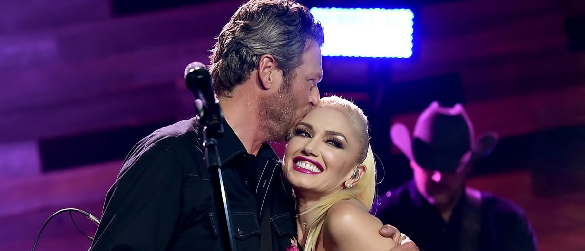 Blake Shelton and Gwen Stefani (Photo: Kevin Winter/Getty Images for iHeartMedia)