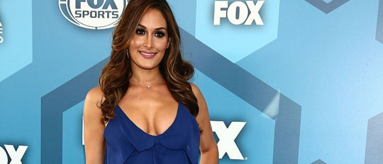 NEW YORK, NY - MAY 16:  Nikki Bella attends FOX 2016 Upfront Arrivals at Wollman Rink, Central Park on May 16, 2016 in New York City.  (Photo by Astrid Stawiarz/Getty Images)