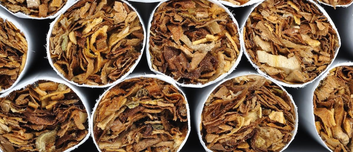 Heap of cigarettes (Credit: Shutterstock/Chones)