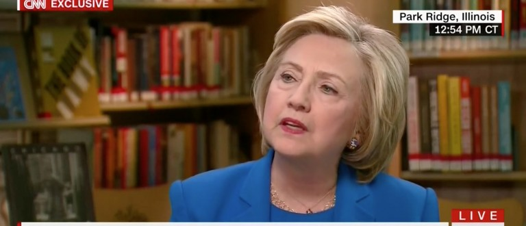 Hillary Clinton, Screen Grab CNN, 5-19-2016