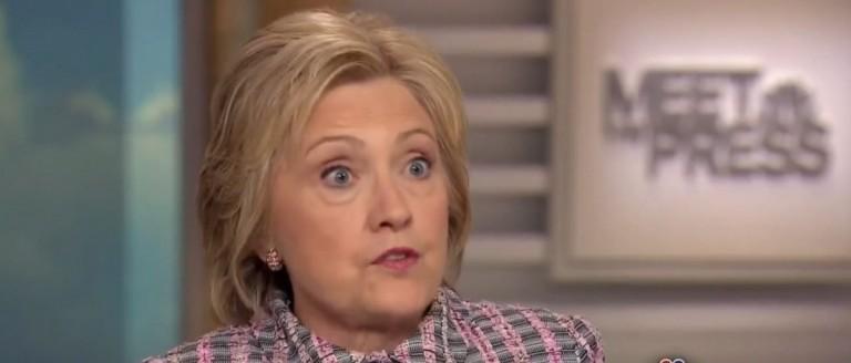 Hillary Clinton, Screen Grab NBC, 5-22-2016