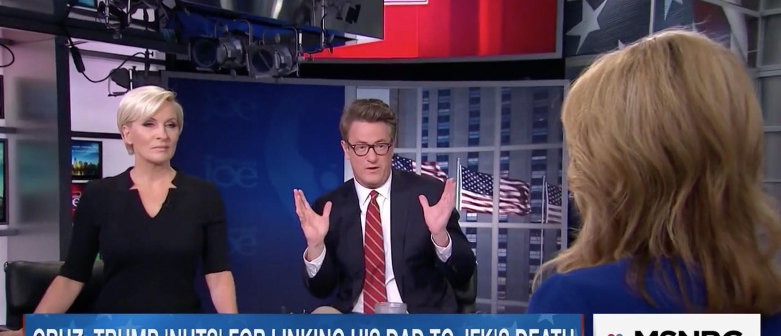 Joe Scarborough, Screen Shot MSNBC, 5-4-2016
