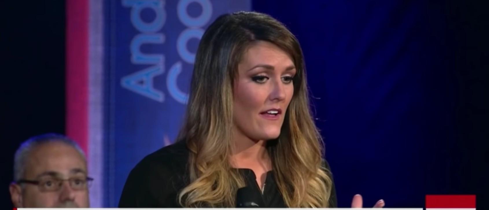 Kimberly Corban, Screen Grab CNN Town Hall