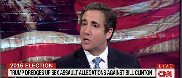 Michael Cohen, Screen Grab CNN, 5-24-2016