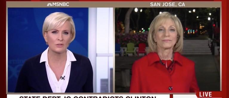Mika Brzezinski, Andrea Mitchell, Screen Grab MSNBC, 5-26-2016