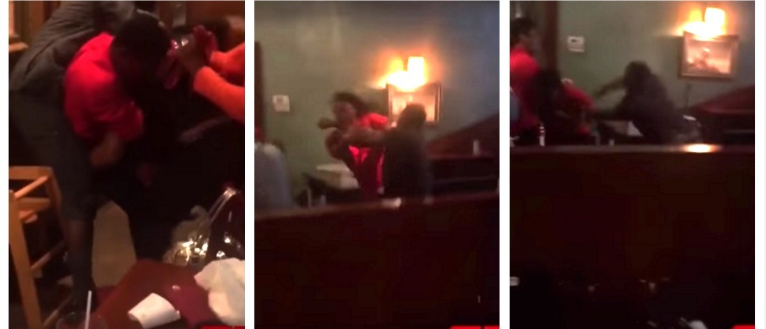 Based On This HUGE Brawl At A Japanese Steak House, Mother's Day 2016 Was Lit AF (YouTube)