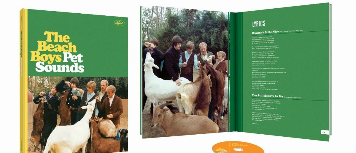 "The 50th Anniversary Deluxe Edition of ""Pet Sounds"" can be pre-ordered now (Photo via Amazon)"