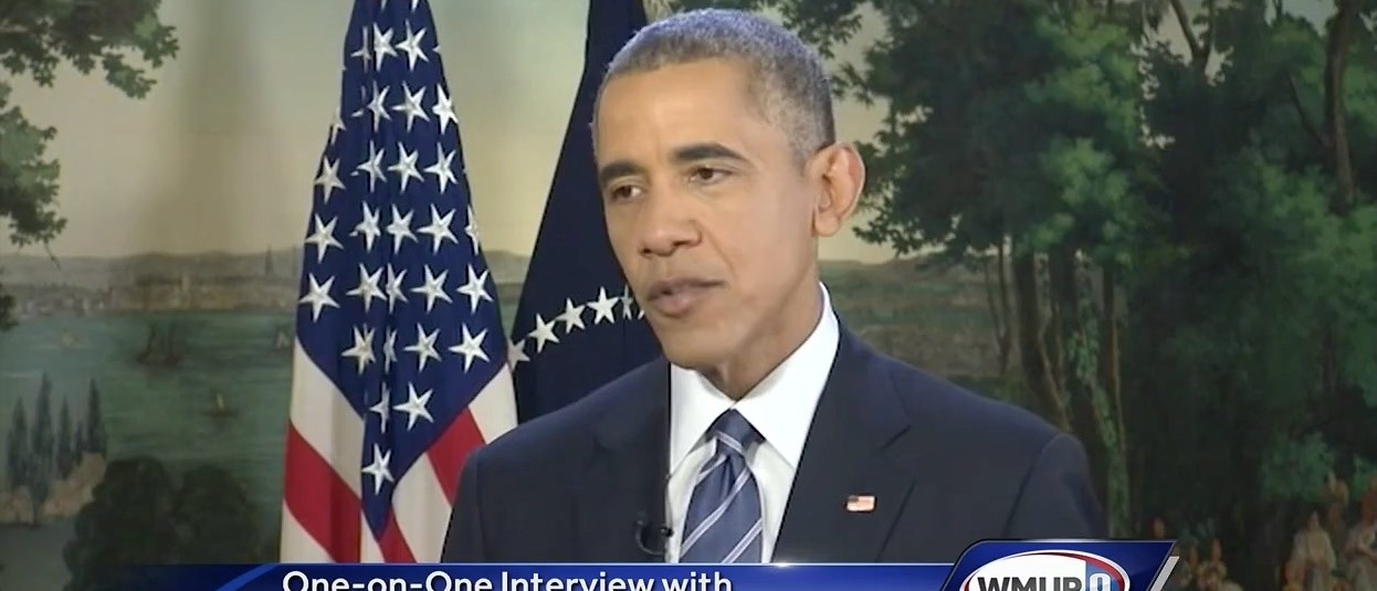 President Barack Obama (WMUR)