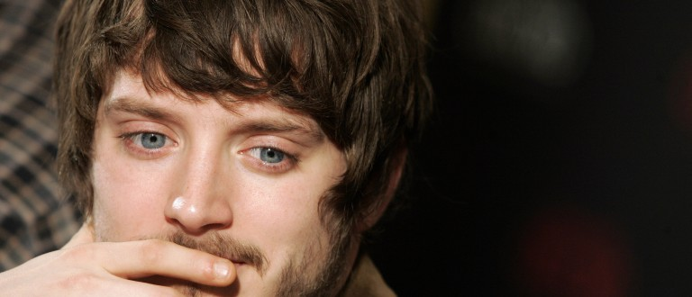 """Actor Elijah Wood attends a news conference to promote the film """"The Oxford Murders"""" in Madrid January 14, 2008. REUTERS/Susana Vera (SPAIN) - RTR1VSKS"""