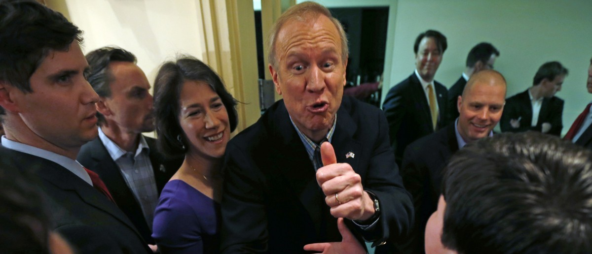 Governor Bruce Rauner (REUTERS/Jim Young)