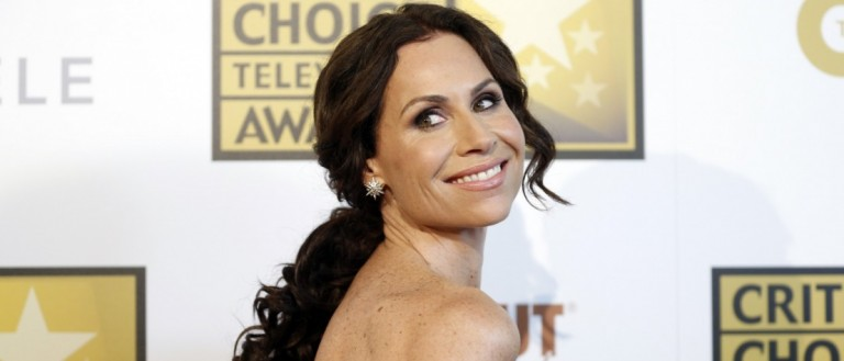 Actress Minnie Driver poses at the 4th annual Critics' Choice Television Awards in Beverly Hills, California June 19, 2014
