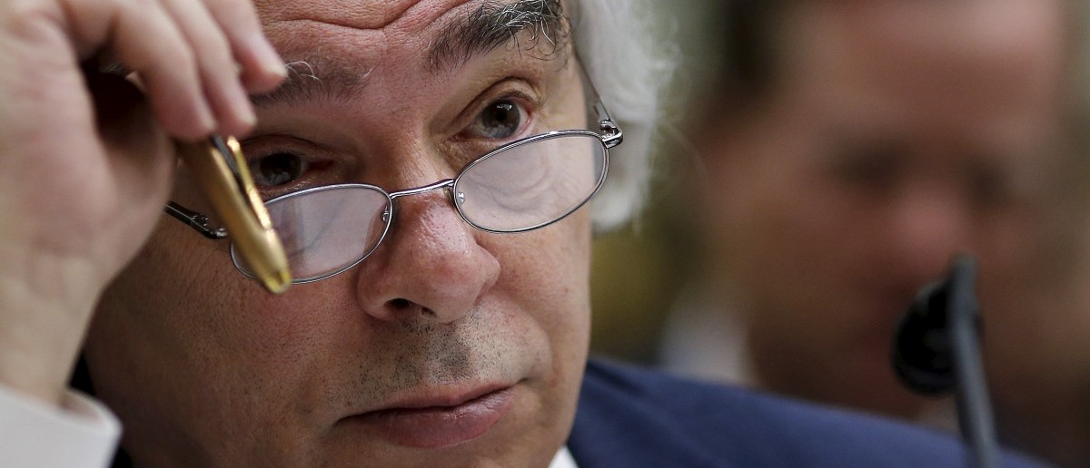 U.S. Secretary of Energy Ernest Moniz testifies before a House Foreign Affairs Committee hearing on the Iran nuclear agreement in Washington