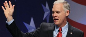 WASHINGTON, DC - FEBRUARY 10: Sen. Ron Johnson (R-WI) waves to the crowd before speaking at the Conservative Political Action conference (CPAC), on February 10, 2011 in Washington, DC. The CPAC annual gathering is a project of the American Conservative Union. (Photo by Mark Wilson/Getty Images)