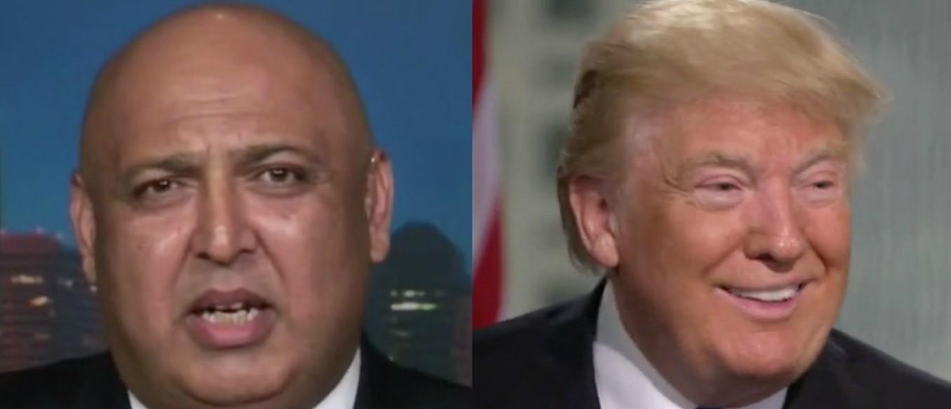 Sajid Tarar, Donald Trump, Screen Shot CNN 5-24-2016, Fox