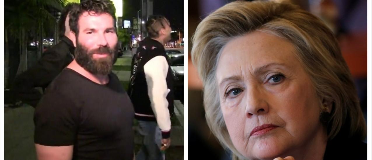 Dan Bilzerian bans Hillary Clinton from his jet (screenshot: TMZ/Reuters Pictures)