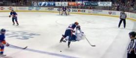 NHL Hit (Credit: Screenshot/Youtube SPORTSNETCANADA)