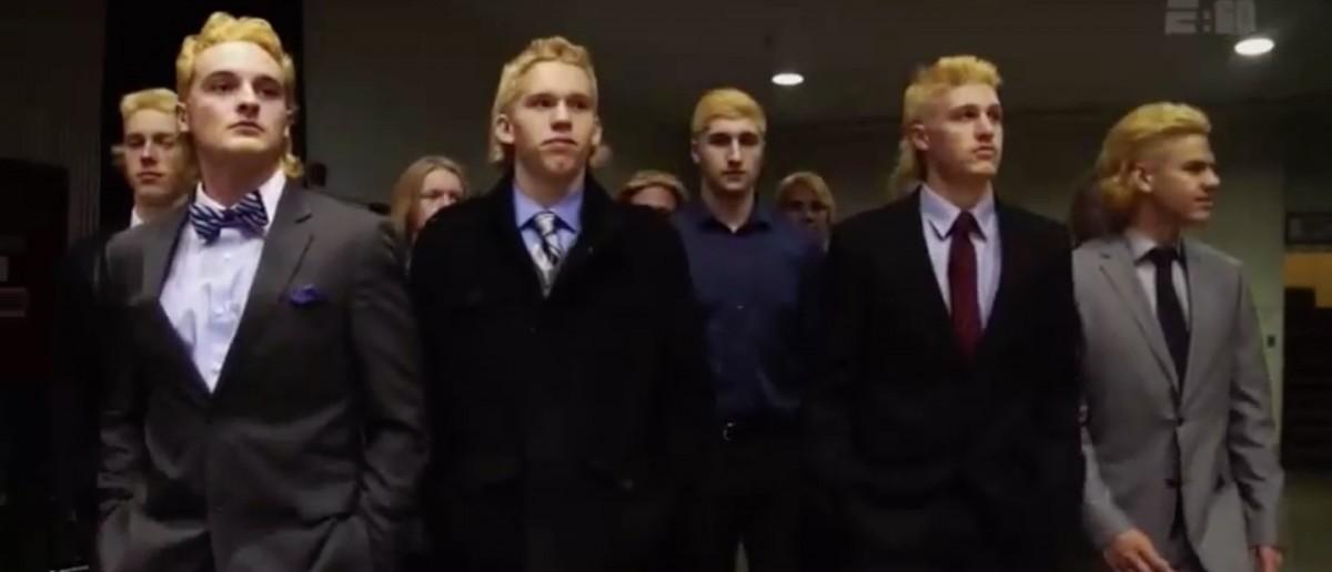 Hockey Hair (Credit: Screenshot/Youtube E:60)