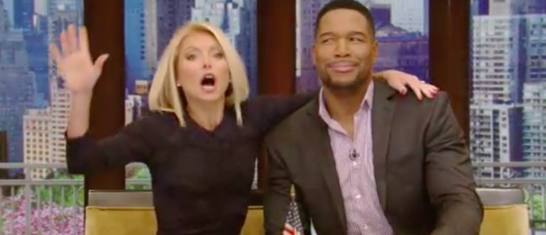 Michael Strahan's last day on Live