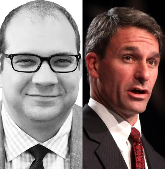 Photo of Adam Brandon and Ken Cuccinelli