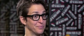 Rachel Maddow Issues Trigger Warning About Anti-Hillary Buttons