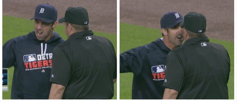Brad Ausmus gets ejected (MLB)