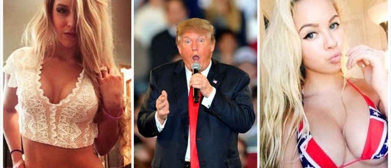 Babes For Trump (Credit: Getty Images/Instagram)