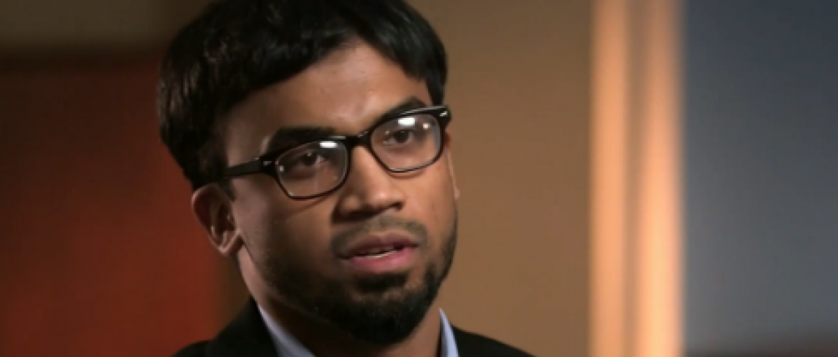 "American ISIS defector ""Mo"" talks about life in Syria. (Screenshot from NBC News)"