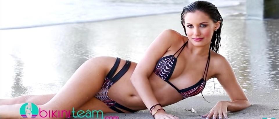 Ex-Dolphins Cheerleader Named 'Bikini Model Of The Month.' Does She Deserve It? (Bikini Team YouTube)