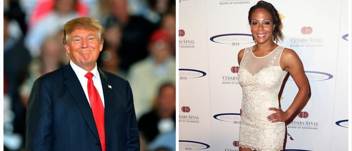 Trump, Leroux (Credit: Getty Images)