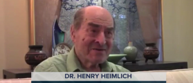 Dr. Henry Heimlich (NBC News Video Capture)