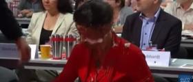 Activist Attacks German Socialist Politician For Suggesting Refugee Cap [VIDEO]