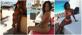 NFL Star's Gorgeous Girlfriend Is Absolutely Sizzling In A Bikini [PHOTOS]