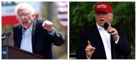 Sanders nicknames Trump 'Mr. Macho' (Reuters Pictures)