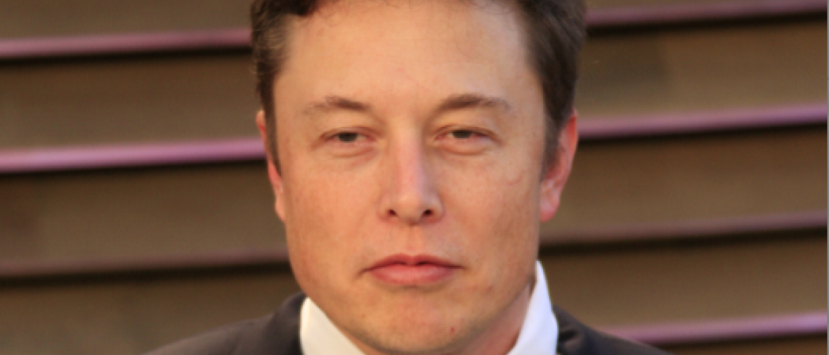 Elon Musk at the 2014 Vanity Fair Oscar Party at the Sunset Boulevard on March 2, 2014 in West Hollywood, CA (Helga Esteb / Shutterstock.com)