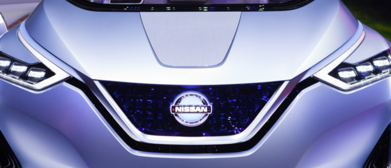 MARCH 1: Geneva Motor Show on March 1, 2016 in Geneva, Nissan IDS Concept, front view (Maksim Toome / Shutterstock.com)