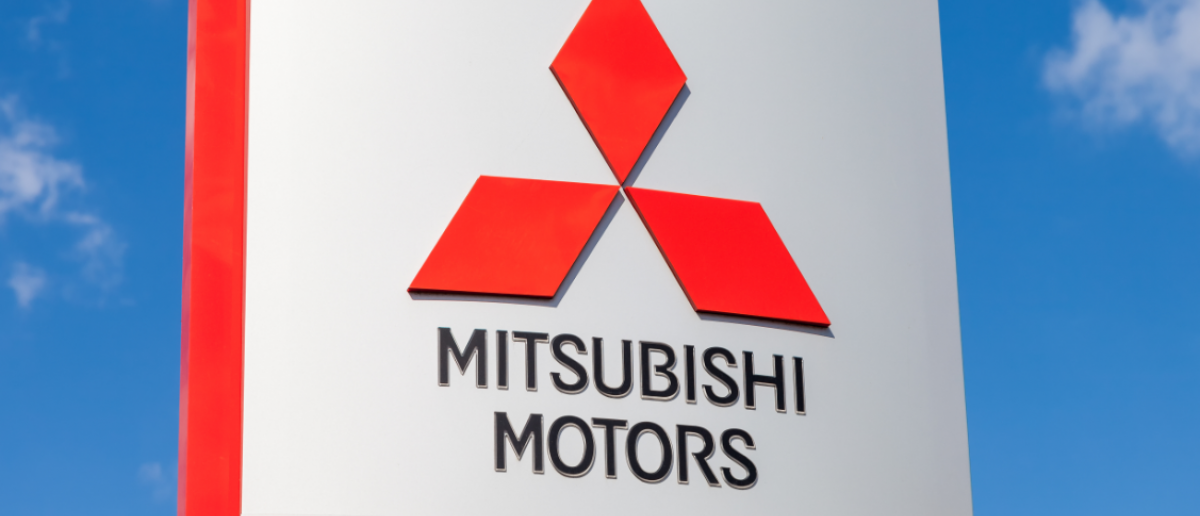 Official dealership sign of Mitsubishi. Mitsubishi Motors Corporation is a multinational automotive manufacturer headquartered in Minato, Tokyo, Japan (FotograFFF / Shutterstock.com)